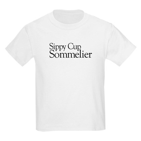 Sippy Cup Sommelier Kids Light T-Shirt