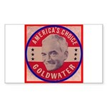 Goldwater-1 Rectangle Sticker