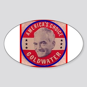 Goldwater-1 Oval Sticker