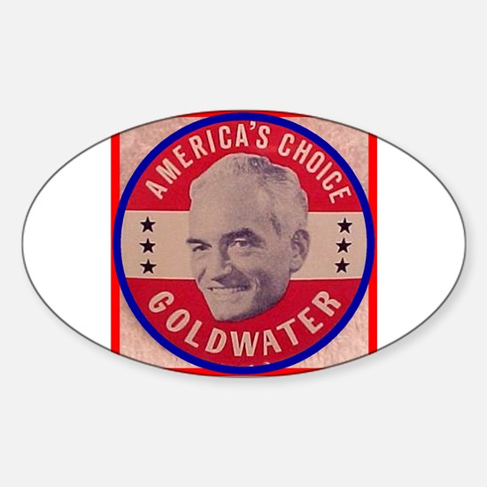 Goldwater-1 Oval Decal