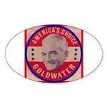 Goldwater-1 Oval Sticker