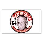 Goldwater-2 Rectangle Sticker 10 pk)