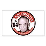 Goldwater-2 Rectangle Sticker 50 pk)
