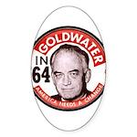 Goldwater-2 Oval Sticker