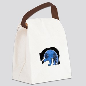 BLUE Canvas Lunch Bag