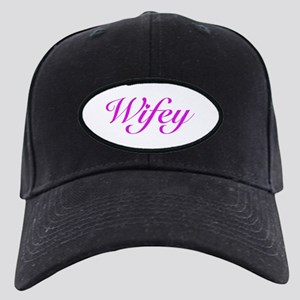 Wifey Black Cap with Patch