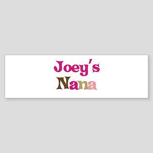 Joey's Nana Bumper Sticker
