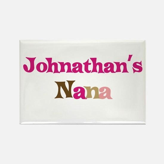 Johnathan's Nana Rectangle Magnet