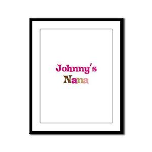 Johnny's Nana Framed Panel Print