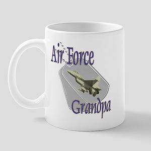 Jet Air Force Grandpa Mug