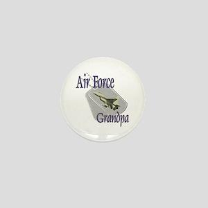 Jet Air Force Grandpa Mini Button