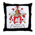 Haberstock Family Crest Throw Pillow