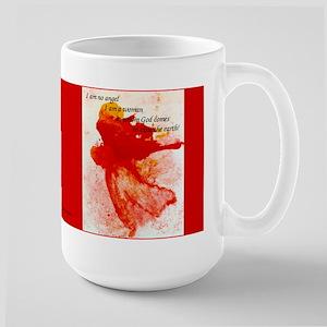 I am a woman mug (15 ounces)