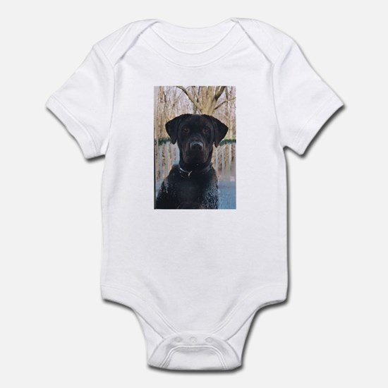 Chocolate Labrador Infant Bodysuit