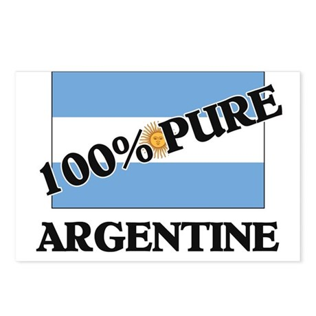 100 Percent ARGENTINE Postcards (Package of 8)