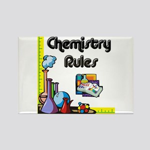 Chemistry rules Rectangle Magnet