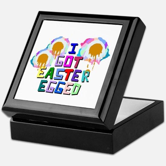 I Got Easter Egged Keepsake Box