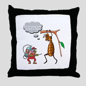 Big Bug Throw Pillow