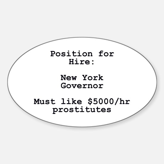 Spitzer: Position for Hire Oval Decal