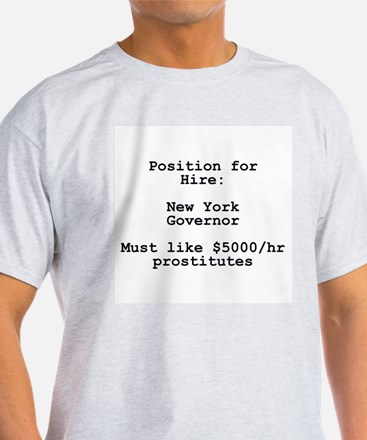 Spitzer: Position for Hire T-Shirt