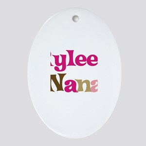 Rylee's Nana Oval Ornament