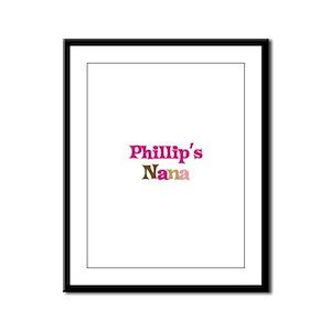 Phillip's Nana Framed Panel Print