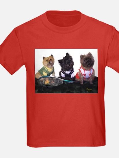 Cairn Terrier Tennis T