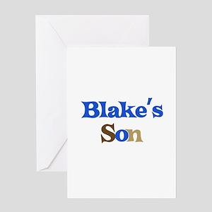 Blake's Son Greeting Card