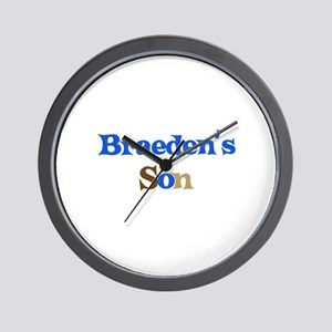Braeden's Son Wall Clock