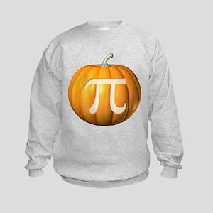 Pumpkin Pi Kids Sweatshirt