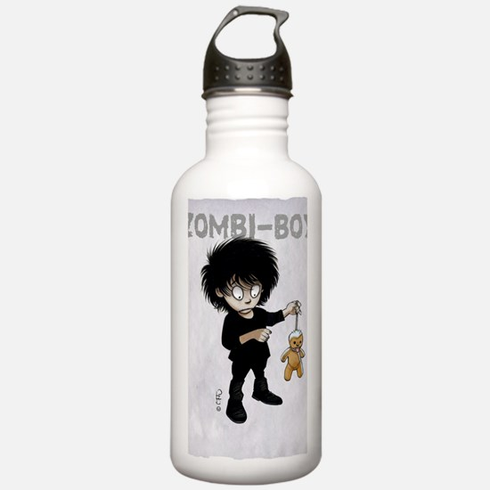 Cute Zombi Water Bottle