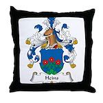 Heins Family Crest Throw Pillow