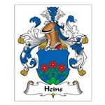 Heins Family Crest Small Poster