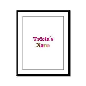 Tricia's Nana Framed Panel Print