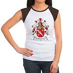 Heilbronner Family Crest Women's Cap Sleeve T-Shir