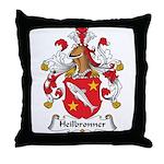 Heilbronner Family Crest Throw Pillow