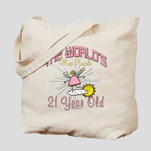 Angelic At 21 Tote Bag