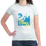 3am Eternal 80s Jr. Ringer T-Shirt