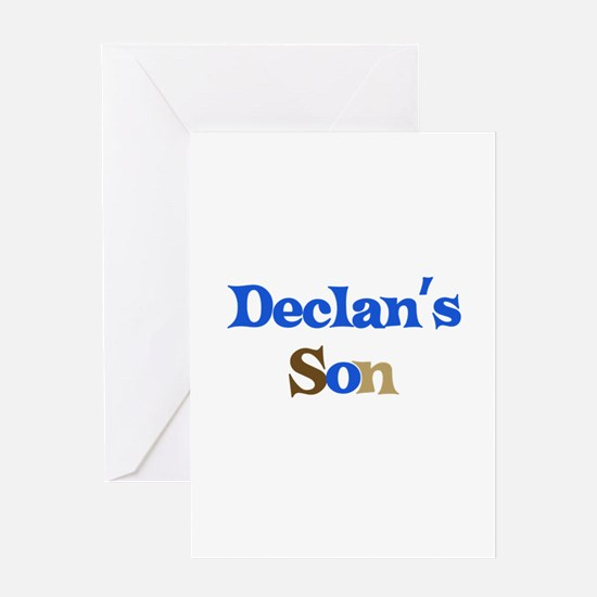 Declan's Son Greeting Card