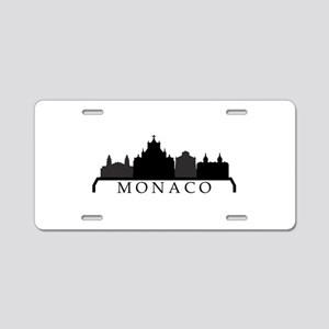 monaco skyline Aluminum License Plate