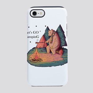 Let's Go Camping iPhone 8/7 Tough Case