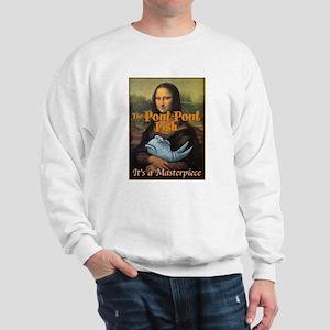Pout-Pout Mona Lisa Sweatshirt