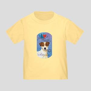 Parson Russell Terrier Toddler T-Shirt