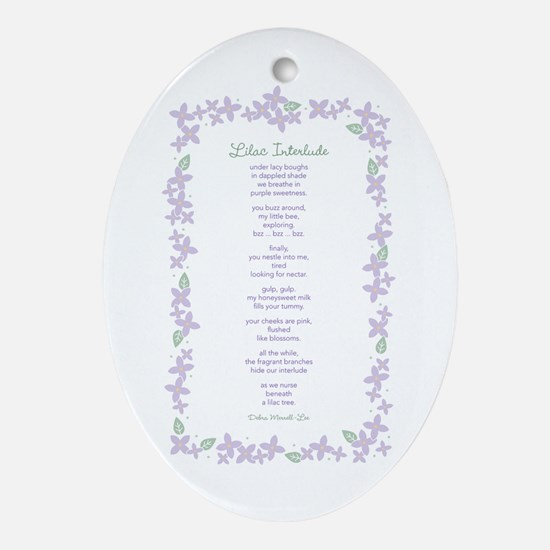 Mothering Spirit Oval Ornament