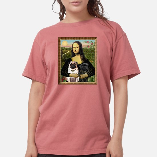 Mona & her 2 Pugs T-Shirt