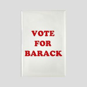 Vote for Barack Rectangle Magnet