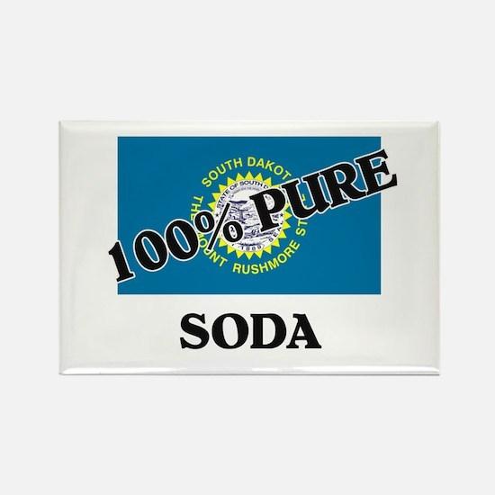 100 Percent Soda Rectangle Magnet