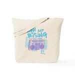 High and Rising Hip Hop Tote Bag