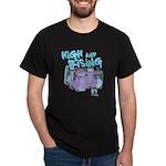 High and Rising Hip Hop Dark T-Shirt