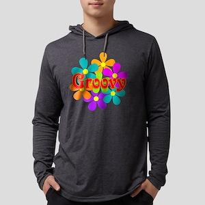 Fun Groovy Flowers Long Sleeve T-Shirt
